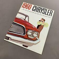 VINTAGE 1960 CHRYSLER IMPERIAL DEALERSHIP BROCHURE NEWYORKER IMPERIAL
