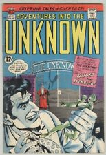 Adventures into the Unknown #172 April 1967 VG+
