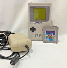 Original Nintendo Game Boy with Super Mario Land and Rechargeable Battery Pack