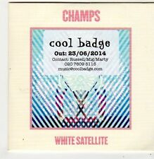 (FI816) Champs, White Satellite - 2014 DJ CD