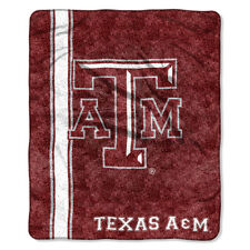 Northwest Texas A&m Aggies NCAA Sherpa Throw Jersey Series 50in X 60in