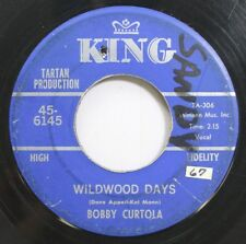 Hear! Rock & Roll 45 Bobby Curtola - Wildwood Days / Indian Love Call On King