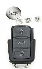 Vw Polo Transporter Golf Passat 3 botón remoto clave reparación Kit de restauración