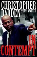 In Contempt by Christopher A. Darden, Jess Walter