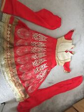 girls indian pakistani dress Size 24- 5-6 Year Old
