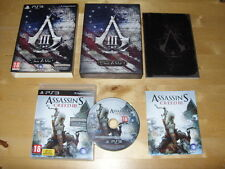 PLAYSTATION 3 GIOCO ASSASSIN's creed lll (3) aderire di Die * Gratis UK P & p *