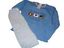 NEU Toller Schlafanzug / 2-Teiler Gr. 128 blau miit Princess Motiv !!