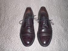 Allen Edmonds   Cap Toe Oxford   Leather Shoes Size 9 D