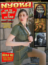 NYOKA AND THE LOST AMULET OF VULTURA! SUPERHEROINE FEATURE FILM! NV MEDIA DVD