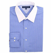 Tommy Hilfiger Men's Long Sleeve Button-Down Striped Dress Shirt - $0 Free Ship