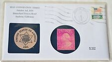 1970 Disney Towers Hotel Span Convention Three Numismatic Coin Stamp Set