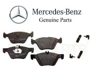 For Mercedes R170 SLK320 C208 CLK320 E420 Set of Front Brake Pads & Sensor OES
