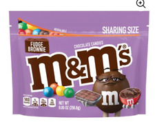 NEW Fudge Brownie Chocolate M&M's USA American Candy m&ms UK POSTED