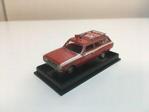 """Opel Rekord """"Feuerwehr Mühlheim"""" - Brekina 20555"""