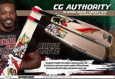 Spartan Chris Gayle Authority English Willow Cricket Bat +Free Ship & $85 Extras