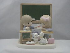 Precious Moments * Love Is The Most Important Lesson 151055 Nib