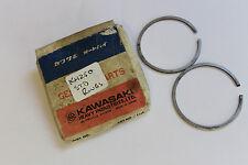 Kawasaki S1 Mach 73-75 KH250 1976 Piston Rings 13008-033 Genuine OE - A15