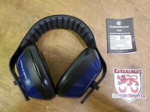 Smith & Wesson Hearing Protection SW201 Blue Adjustable L3C