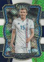 2017-2018 Panini Select Soccer Base Common Multi-Color Parallel (#151 - #175)