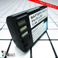 D-LI90 LI90(E) LI90E LI90P DLI90 DLI90P DLI90(E) DLI90E Battery for Pentax 645Z