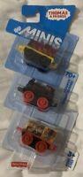 Thomas & Friends Minis 3 Pack CHL66, Salty, Super Hiro, Dino Ben 2014 New Sealed
