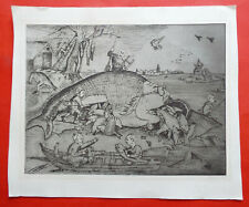 PANAYIOTIS KALORKOTI THE BIG FISH ORIGINAL ETCHING SIGNED LIMITED ED No.3 of 30