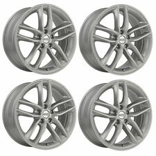 4 x BBS SX Brilliant Silver Alloy Wheels - 5x108 | 20x9"