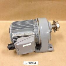 Fuji MGA42A002S050S Geared Motor 200W 3 Phase 4 Pole 50 Hz 200V Ratio 1:50 1.1A