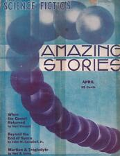 Amazing Stories of Science Fiction April 1933 VG condition!