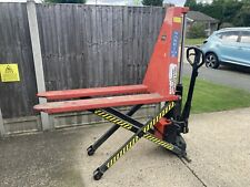 More details for high lift pallet truck 1000kg - electric lift function with charger