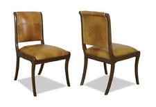 Chesterfield Stuhl Lehnstuhl Stühle Polster Sitz Antik Leder Esszimmer Royal