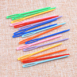 1/5/10 Pcs Wool Plastic Hand Sewing/ Needles Large Eye Embroidery Tapestry Craft