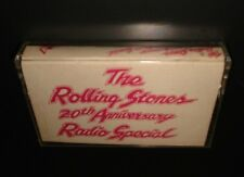 The ROLLING STONES Ultra RARE 20th Anniversary Radio Special CASSETTE TAPE 1982