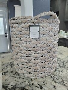 "18""x14.5"" Decorative Basket White - Threshold™"