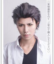 Re Zero kara Hajimeru Isekai Seikatsu Subaru Natsuki Mixed Brown Cosplay Wig