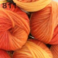 Sale 6 Skeins  x50g New Knitting Yarn Chunky  Colorful Hand Wool Wrap Scarves 11