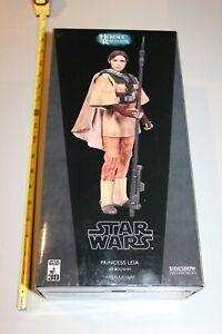 Princess Leia Boushh Star Wars Sideshow Exclusive 1:6 Heroes of Rebellion ROTJ
