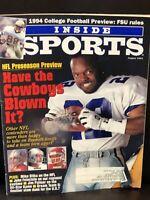 Dallas Cowboys Lot of 8 Vintage Magazines - Emmitt Smith, Troy Aikman, SI