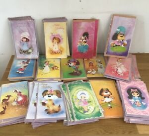 Vintage 1970s Greetings Cards Unused Kitsch Assorted Old Stock Retro REF22