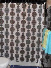 Little Taffy's Simply Divine  Baltimore Chic Lollipop Wallpaper Shower Curtain