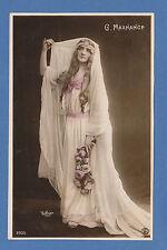 ACTRESS - REUTLINGER FRENCH POSTCARD - ACTRESS -  G.  MAXHANCE  -  C 1901 - 1910