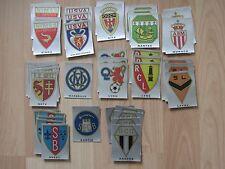 PANINI FOOTBALL 80 - 1980 -   Vente à l'unité d'écussons neufs -