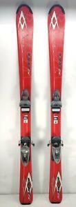 Volkl 130cm Unlimited AC JR. Kids Youth Snow Skis w/ Rossignol Axium Bindings