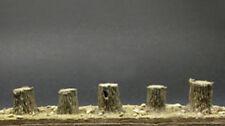 Arbre d'échelle 1/35 (nom vernaculaire) installation de Souches (5 pièces)