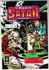 LE FILS DE SATAN n°12 # DANSE MACABRE # 1979 COMICS POCKET