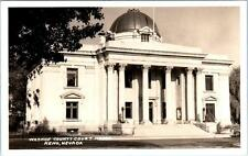 RPPC  RENO, Nevada  NV   WASHOE COUNTY COURT HOUSE  c1940s  Postcard