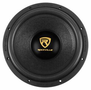 """Rockville W12K9D4 12"""" 4000w Peak Car Audio Subwoofer Sub 1000w RMS CEA Rated"""