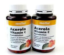 Acerola Vitamin C  400 (2 x 200) Kautabletten revoMed
