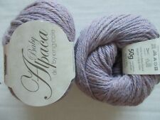 King Cole Baby Alpaca 100% Alpaca DK yarn, Ministrel, lot of 2,Peru (110 yds ea)