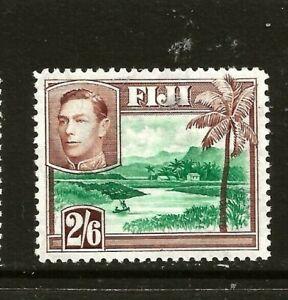 FIJI (Z-249A) GEORGE V1 1938 SG265 2/6d GREN & BROWN  VERY FINE MM / MH